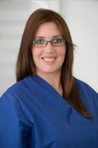 Zahnmedizinische Fachangestellte Nadine Gießling